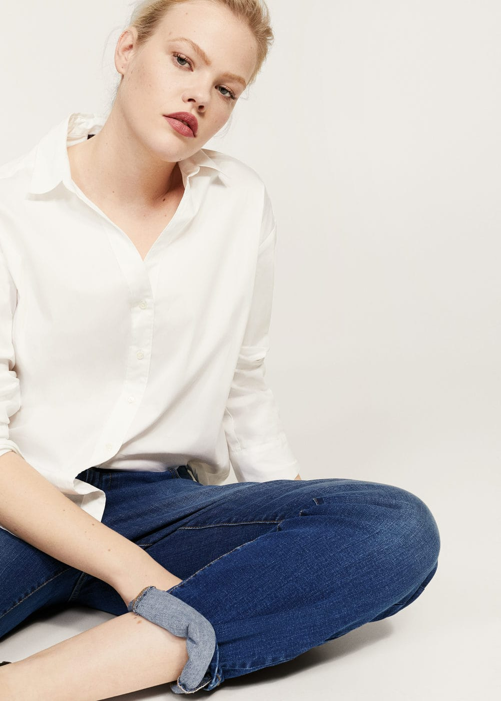 Jeans relaxed ely | VIOLETA BY MANGO