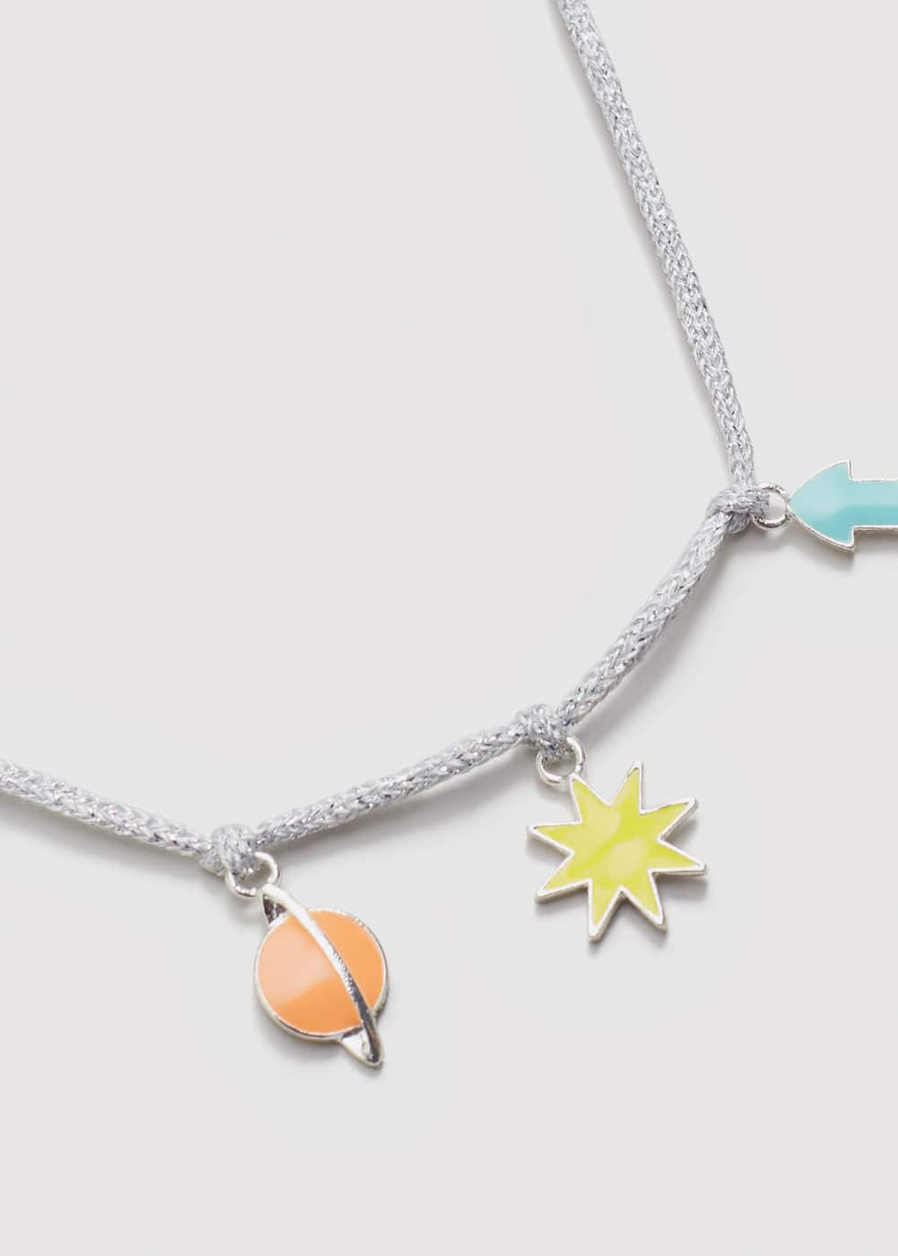 Space pendants necklace | MANGO