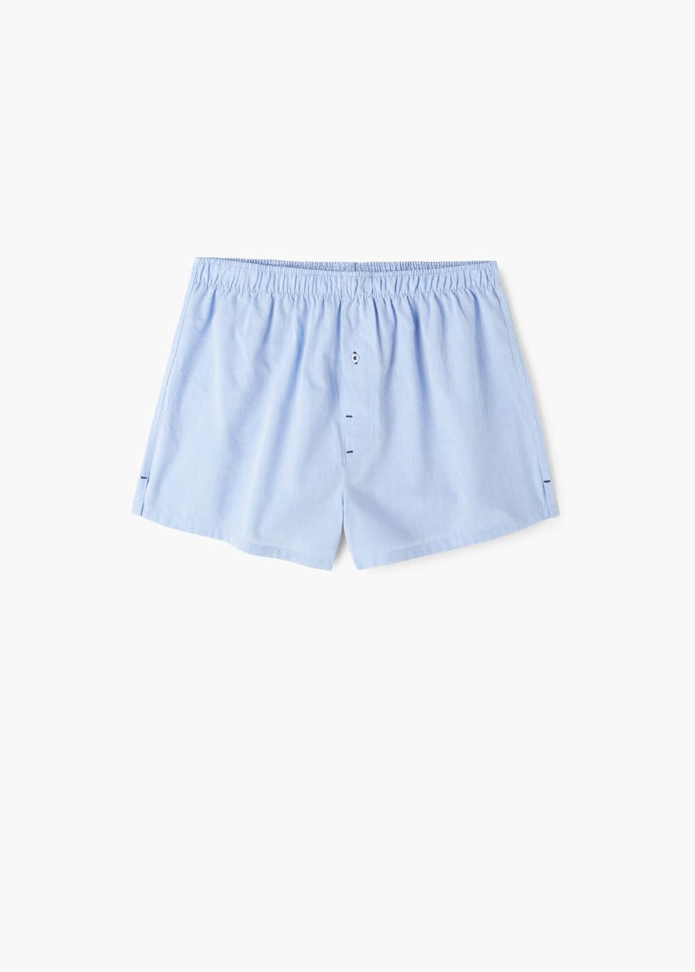Cotton boxer shorts | MANGO MAN