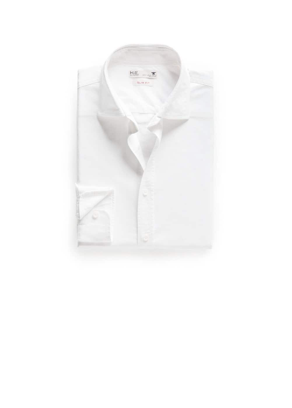Camisa slim-fit oxford | MANGO MAN