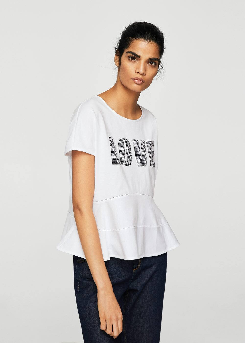 Love t-shirt | MANGO