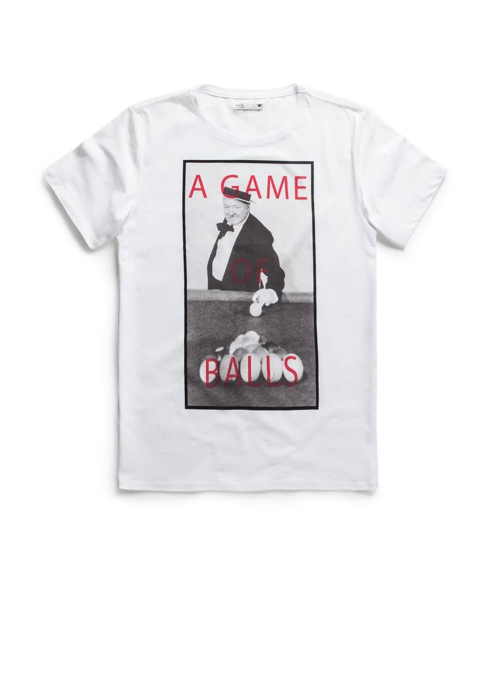 T-shirt estampada game | MANGO MAN