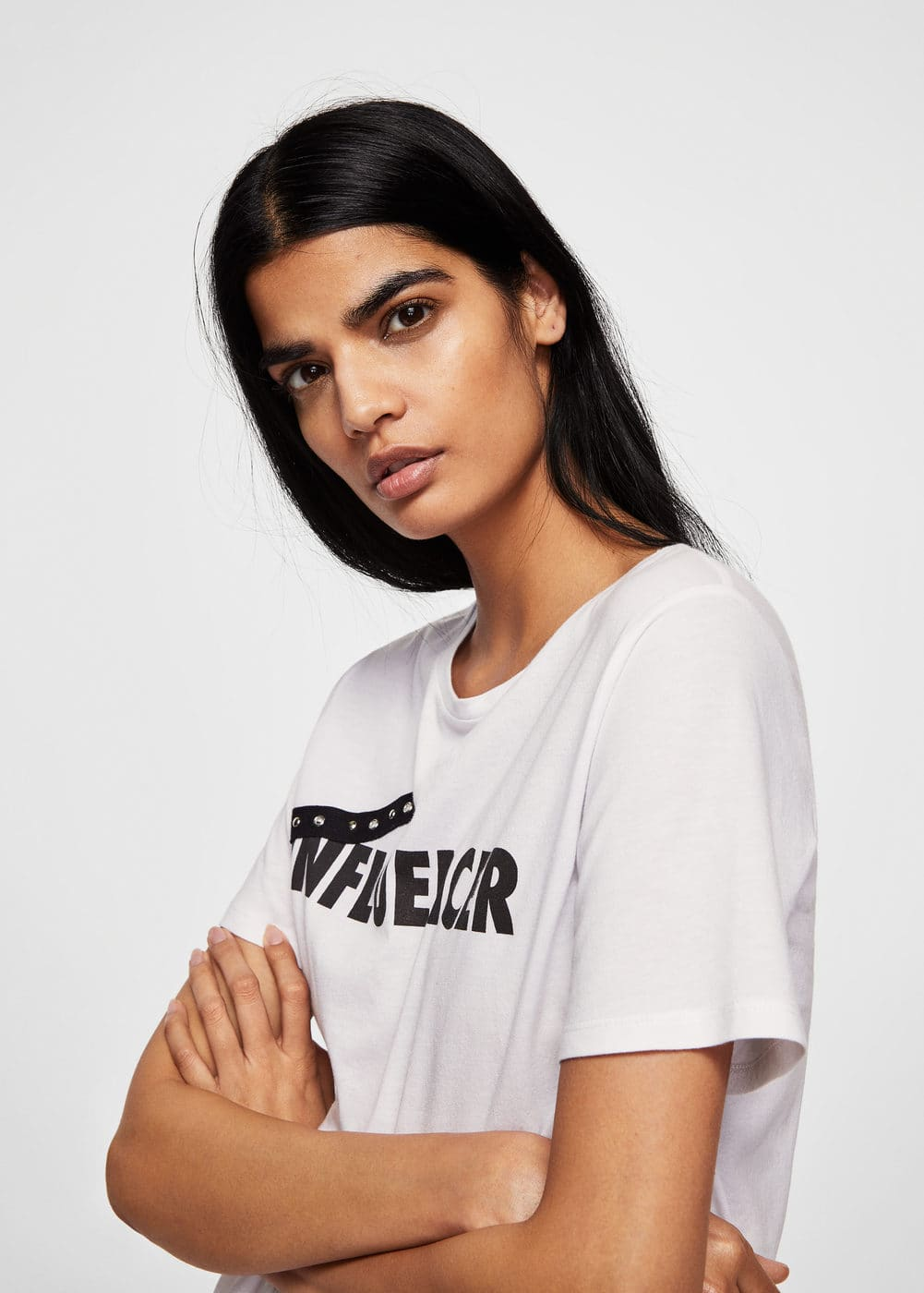 Influencer T Shirt by Mango