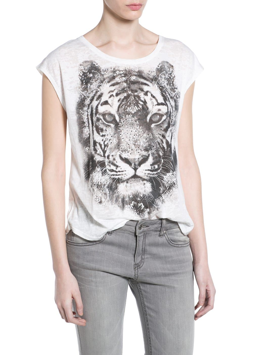 Animal devoré t-shirt | MANGO