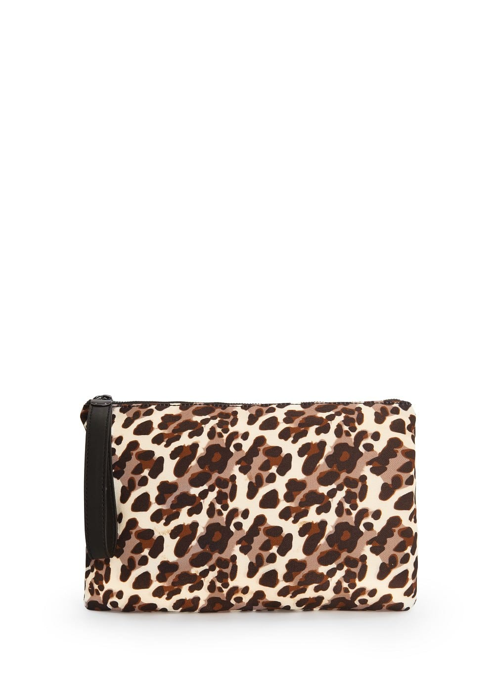 Clutch estampado leopardo | MANGO