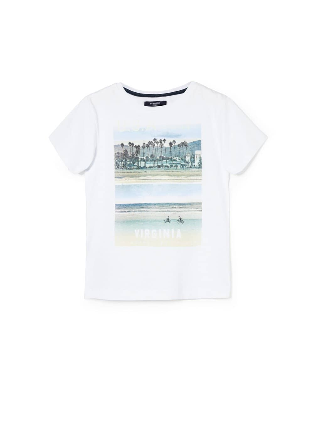 T-shirt usa | MANGO KIDS
