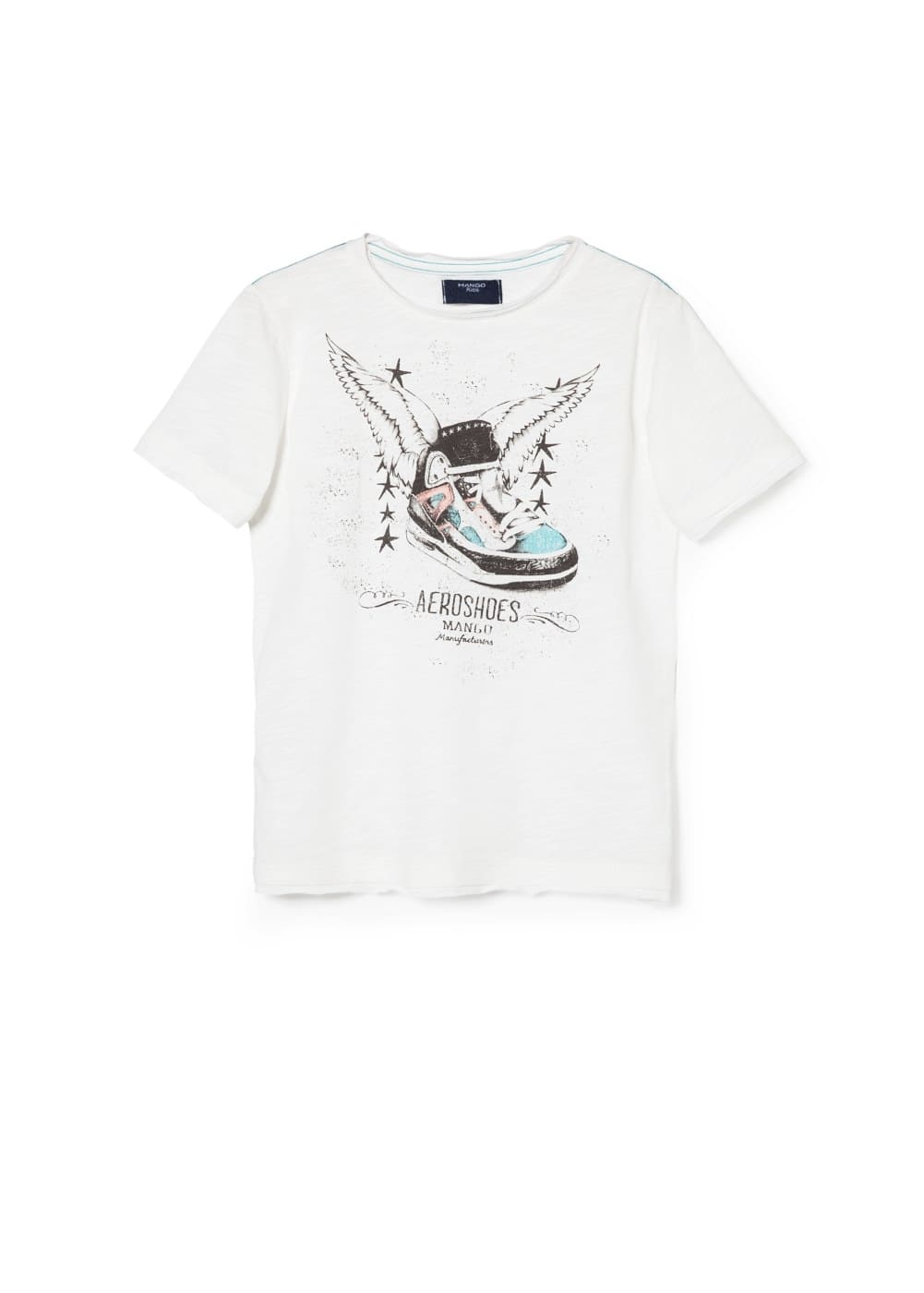 Aero shoes t-shirt | MANGO
