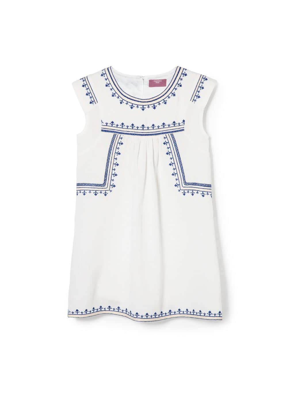 Embroidery dress | MANGO KIDS