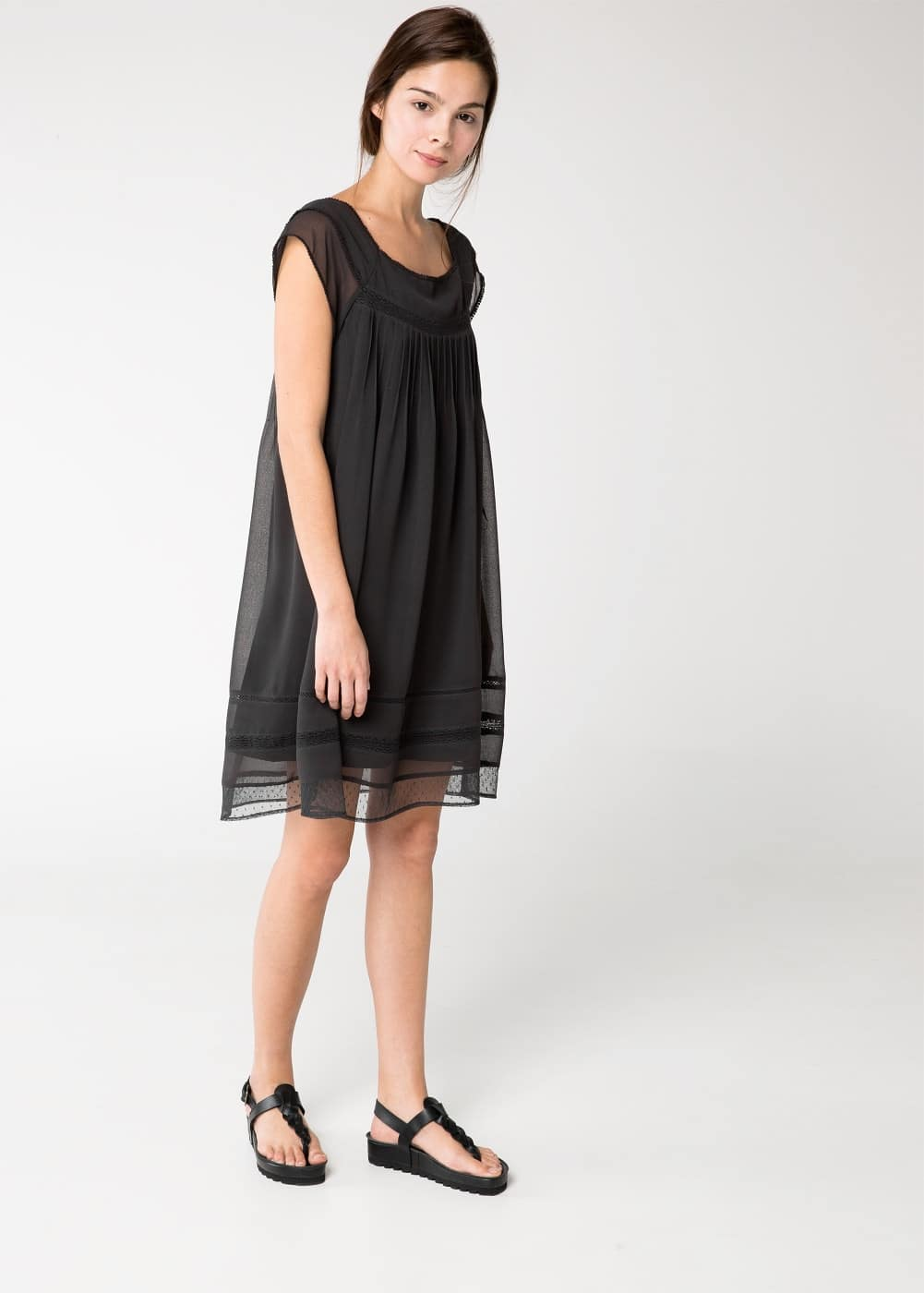 Plumeti hem dress | MANGO