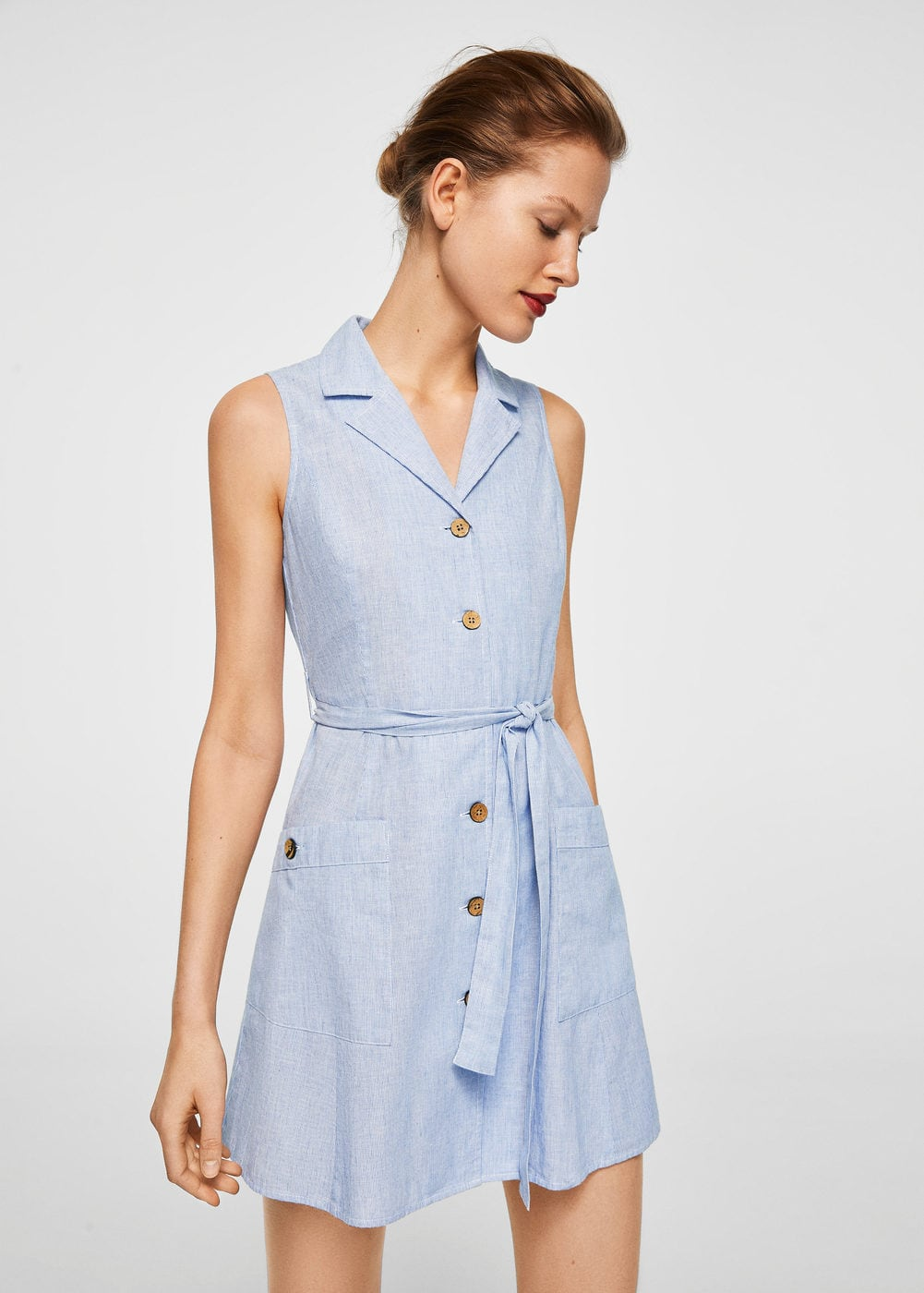 Detachable belt dress | MNG