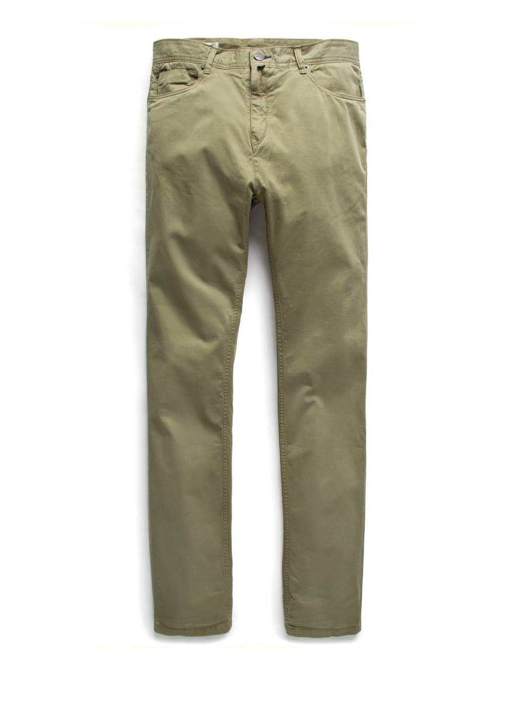 Slim-fit 5 pocket trousers | MANGO MAN
