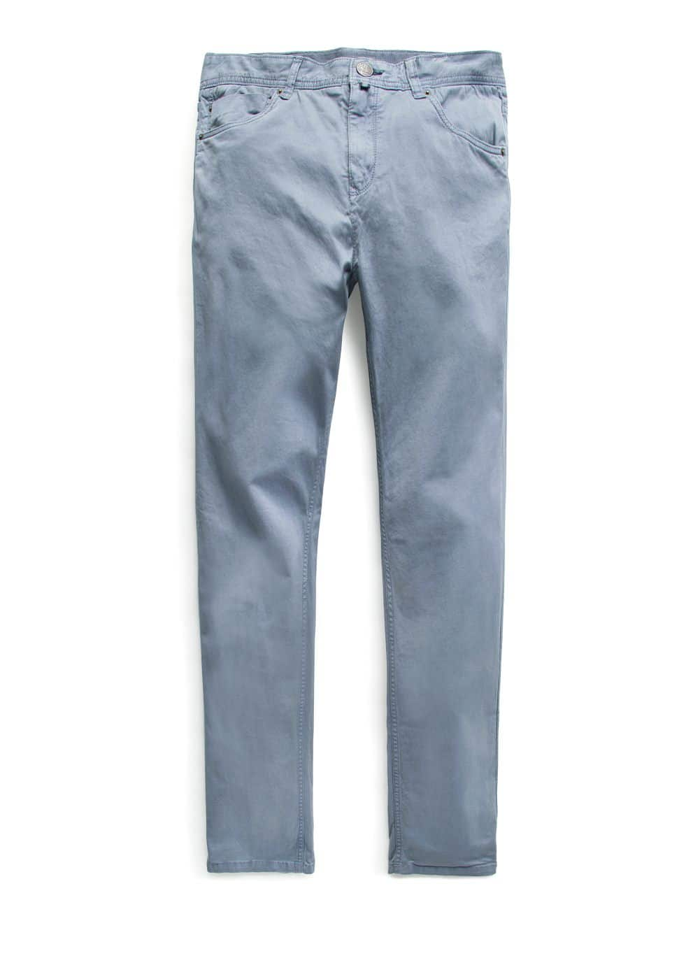 Slim-fit 5-pocket broek | MANGO MAN