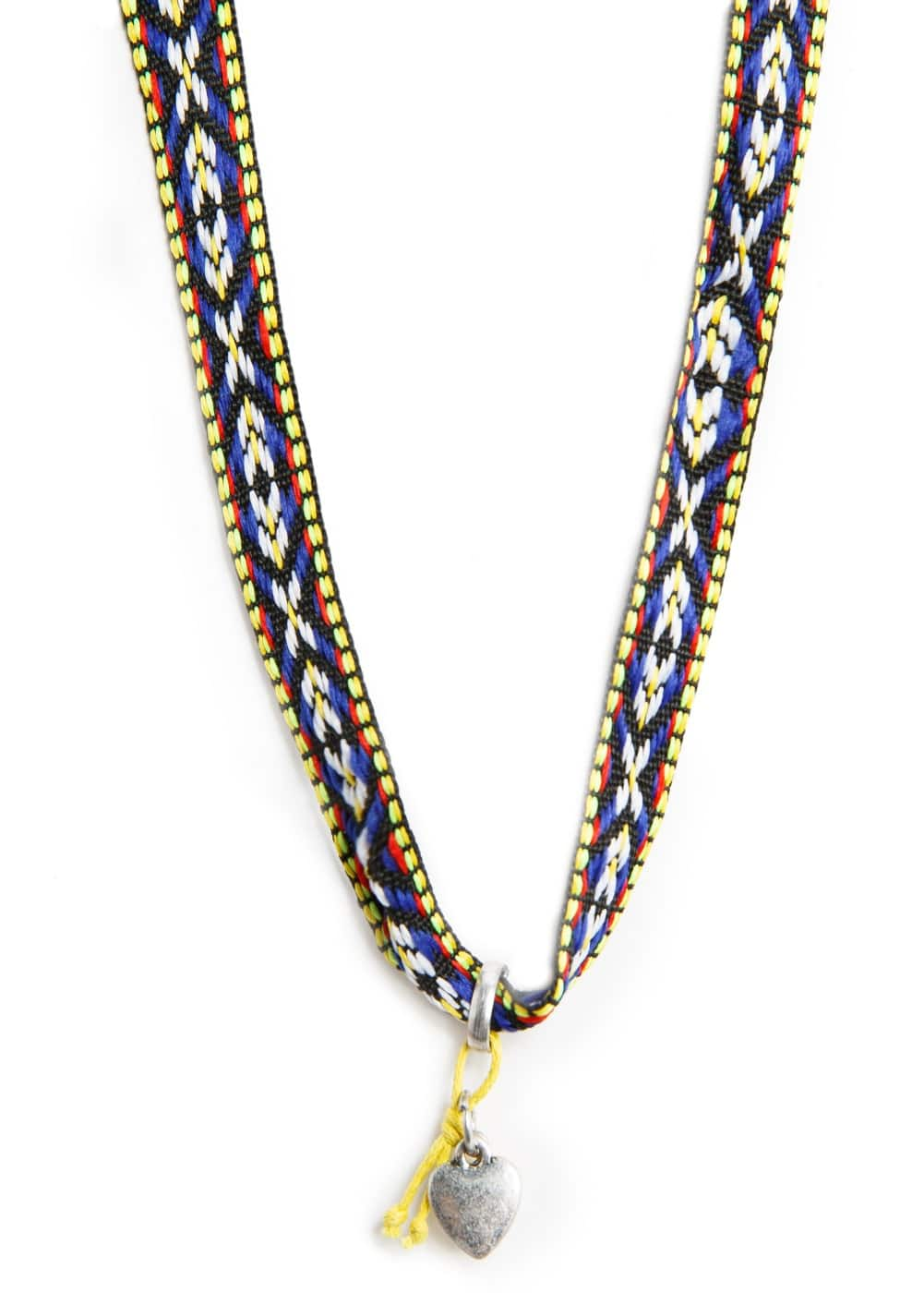 Ethnic necklace | MANGO
