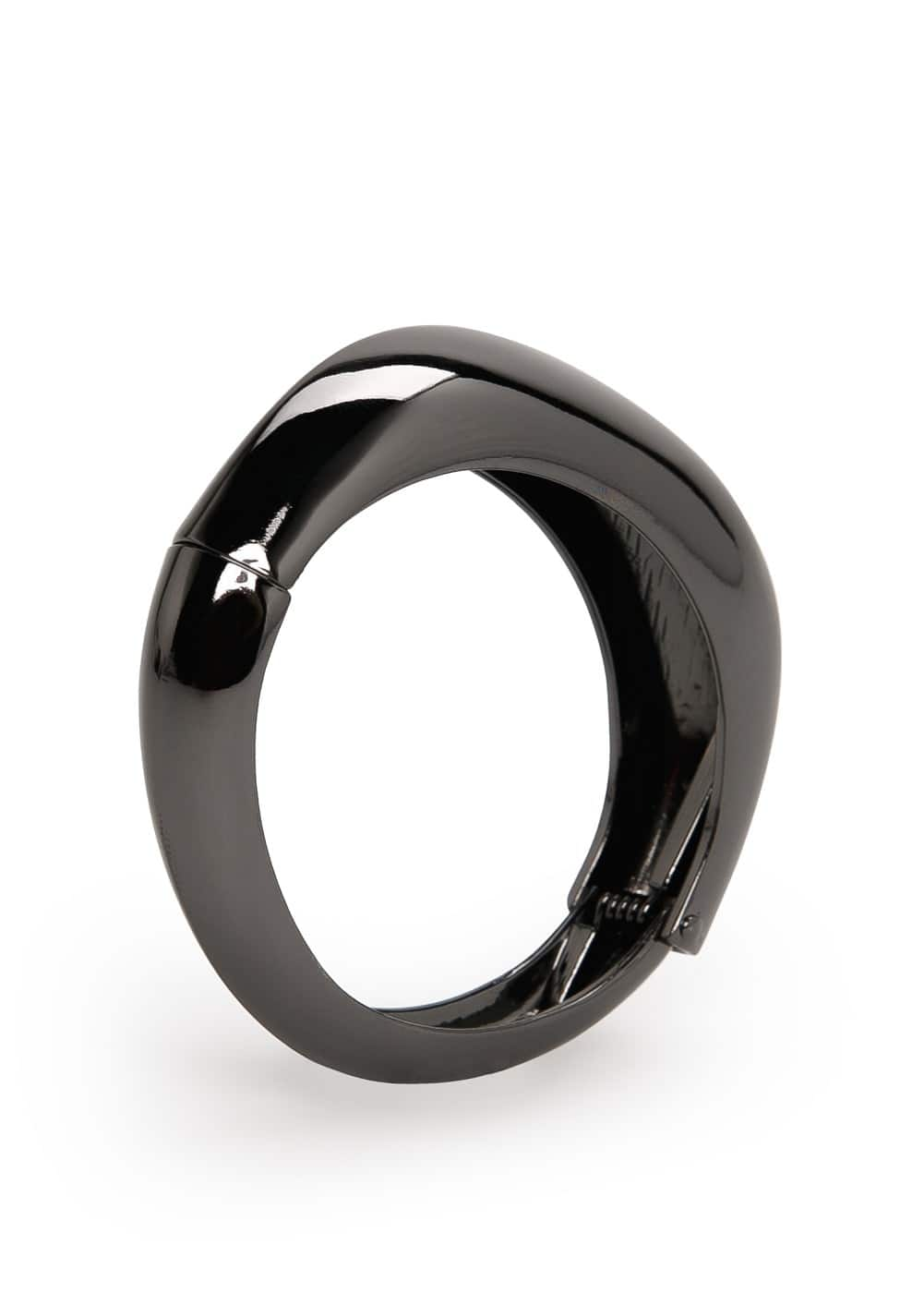Metal hinged bangle | MANGO