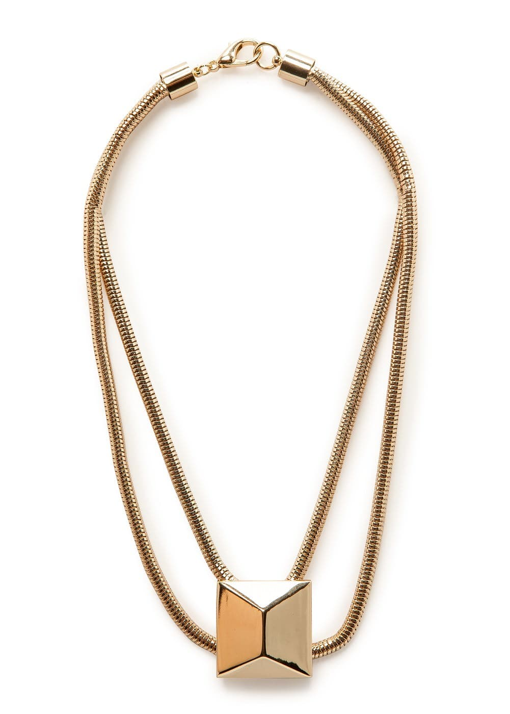 Xl stud necklace | MANGO