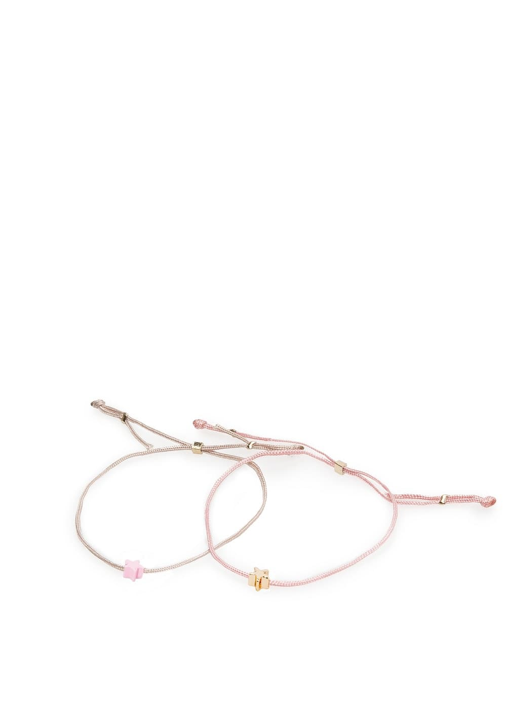 2 pack star bracelets | MANGO KIDS
