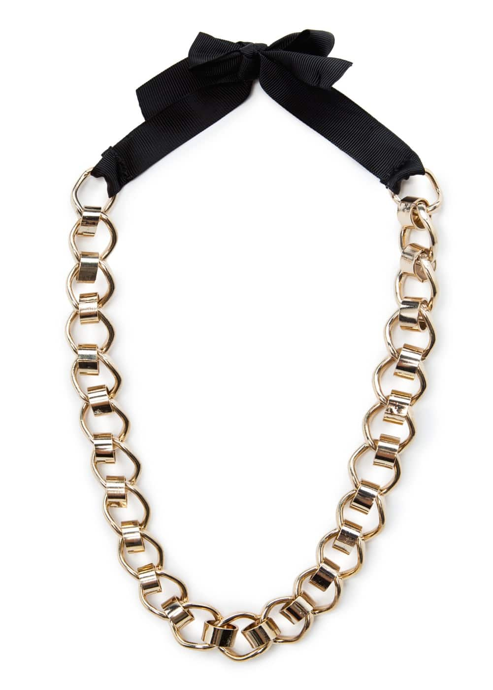 Linked chain choker | MANGO