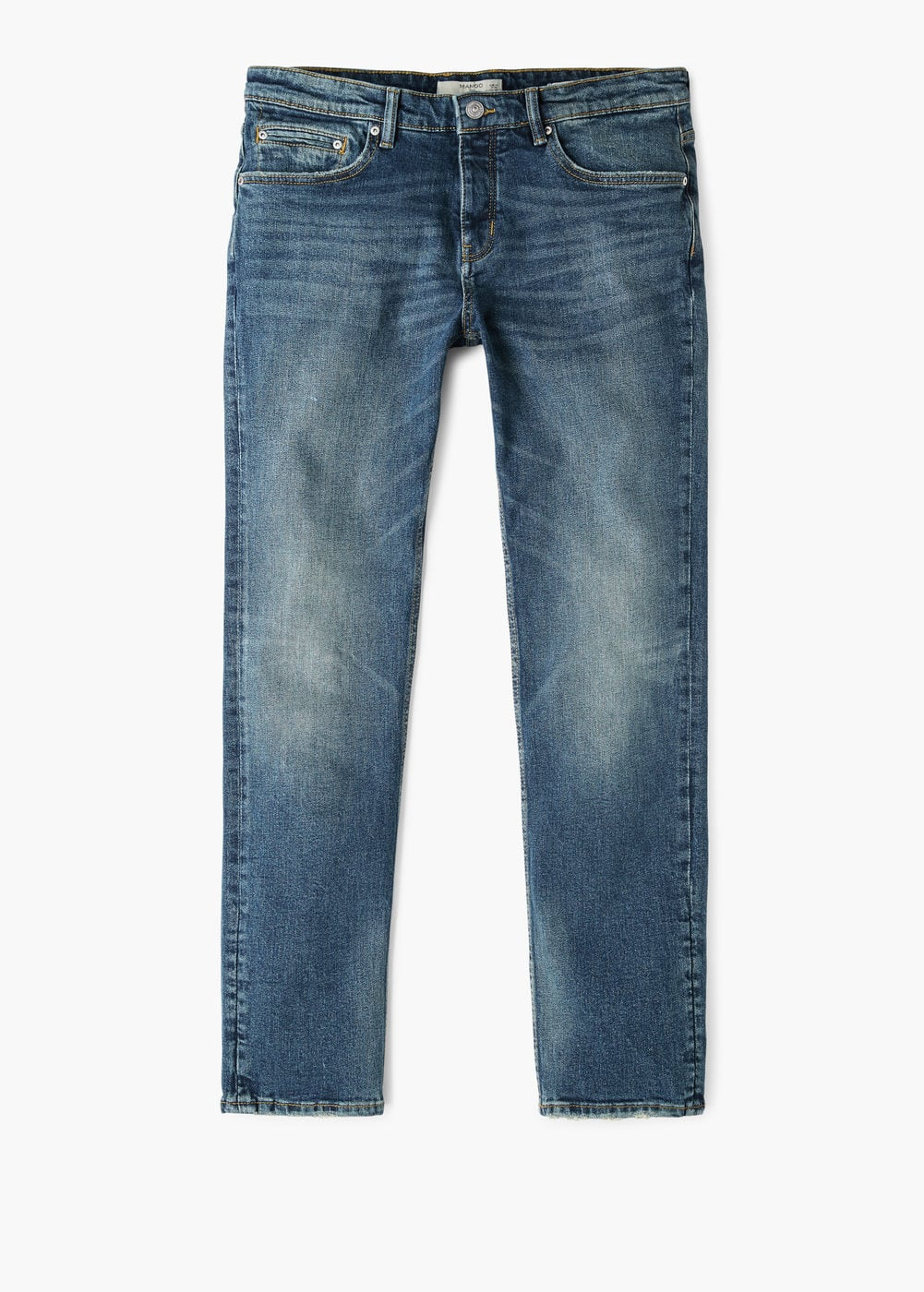 Jeans tim slim-fit lavaggio scuro | MANGO MAN