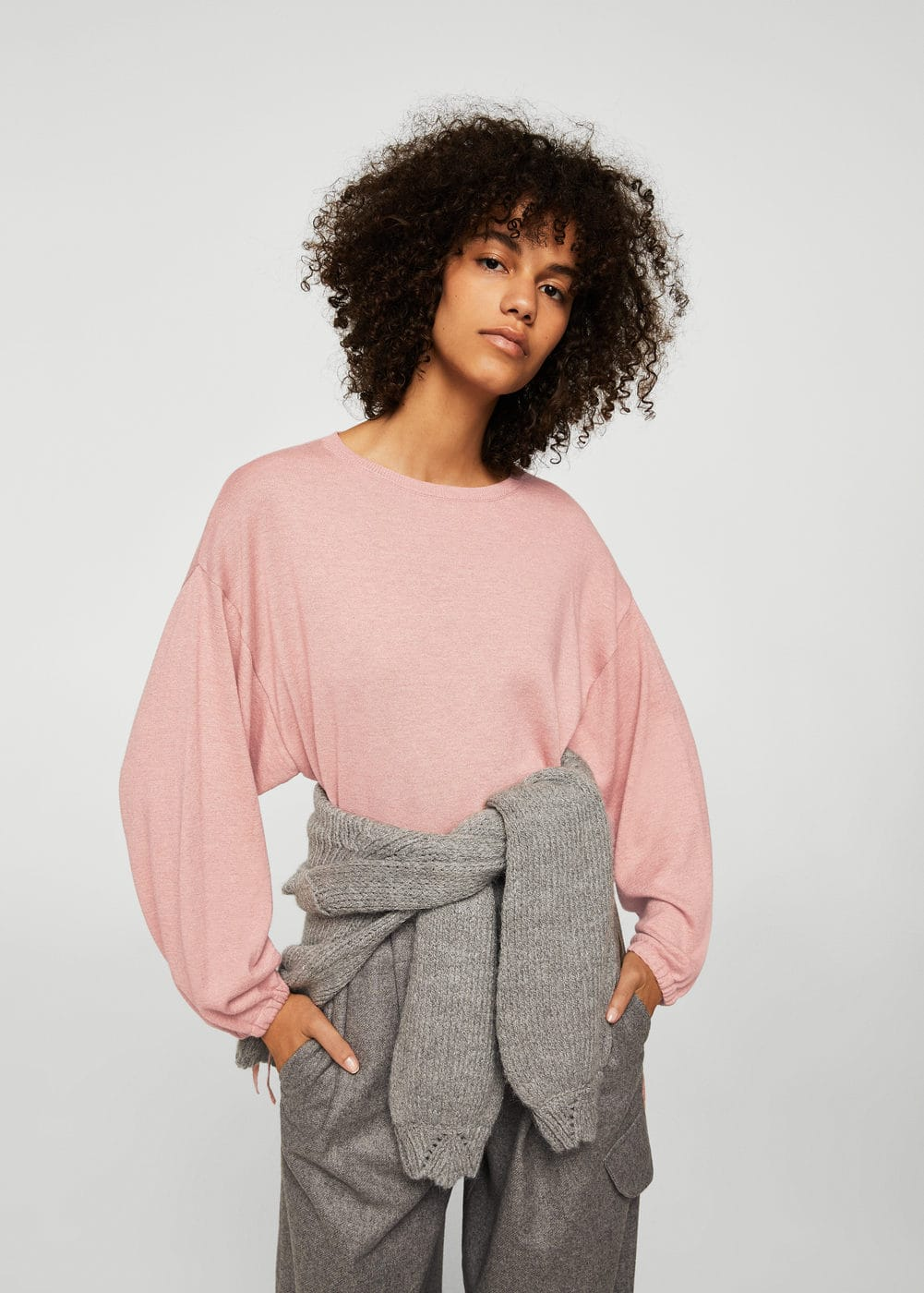 Puffed sleeves sweater | MNG