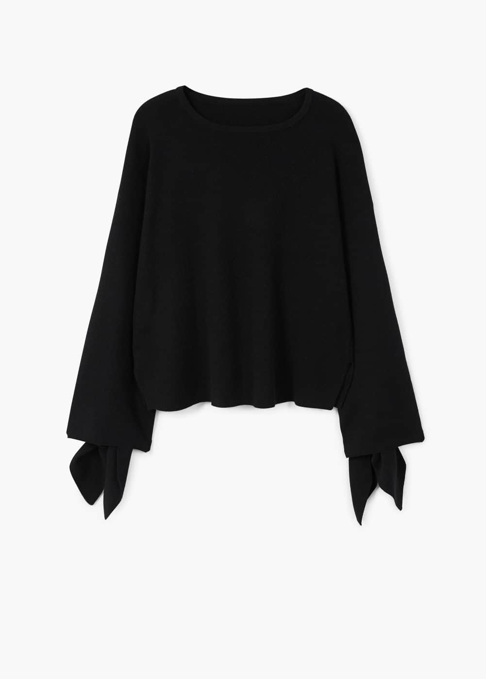 Sleeve knotted sweater | MANGO