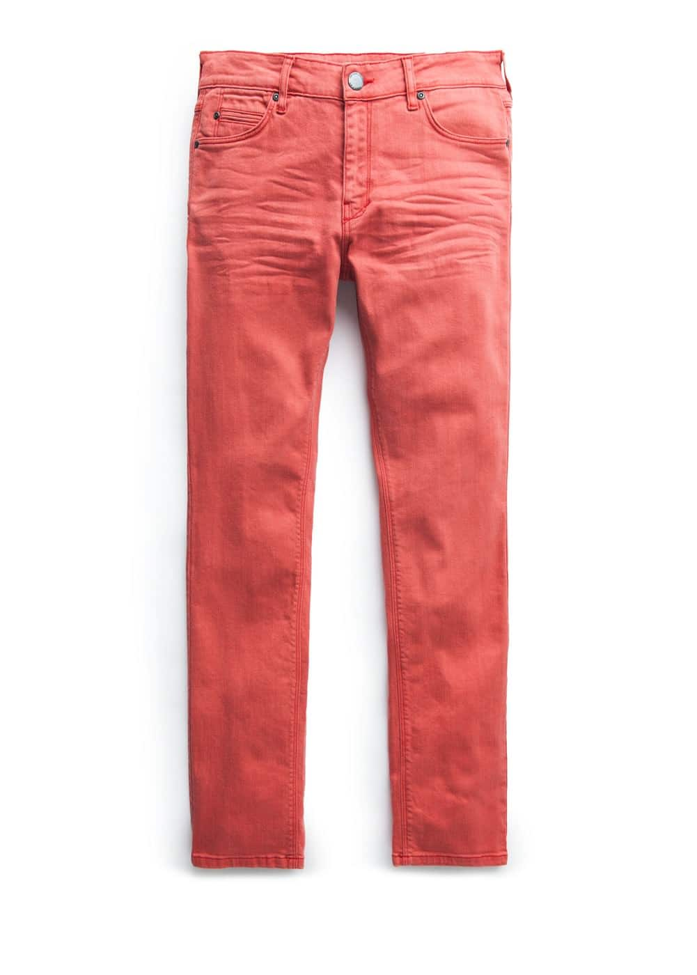 Slim-fit red alex jeans | MANGO