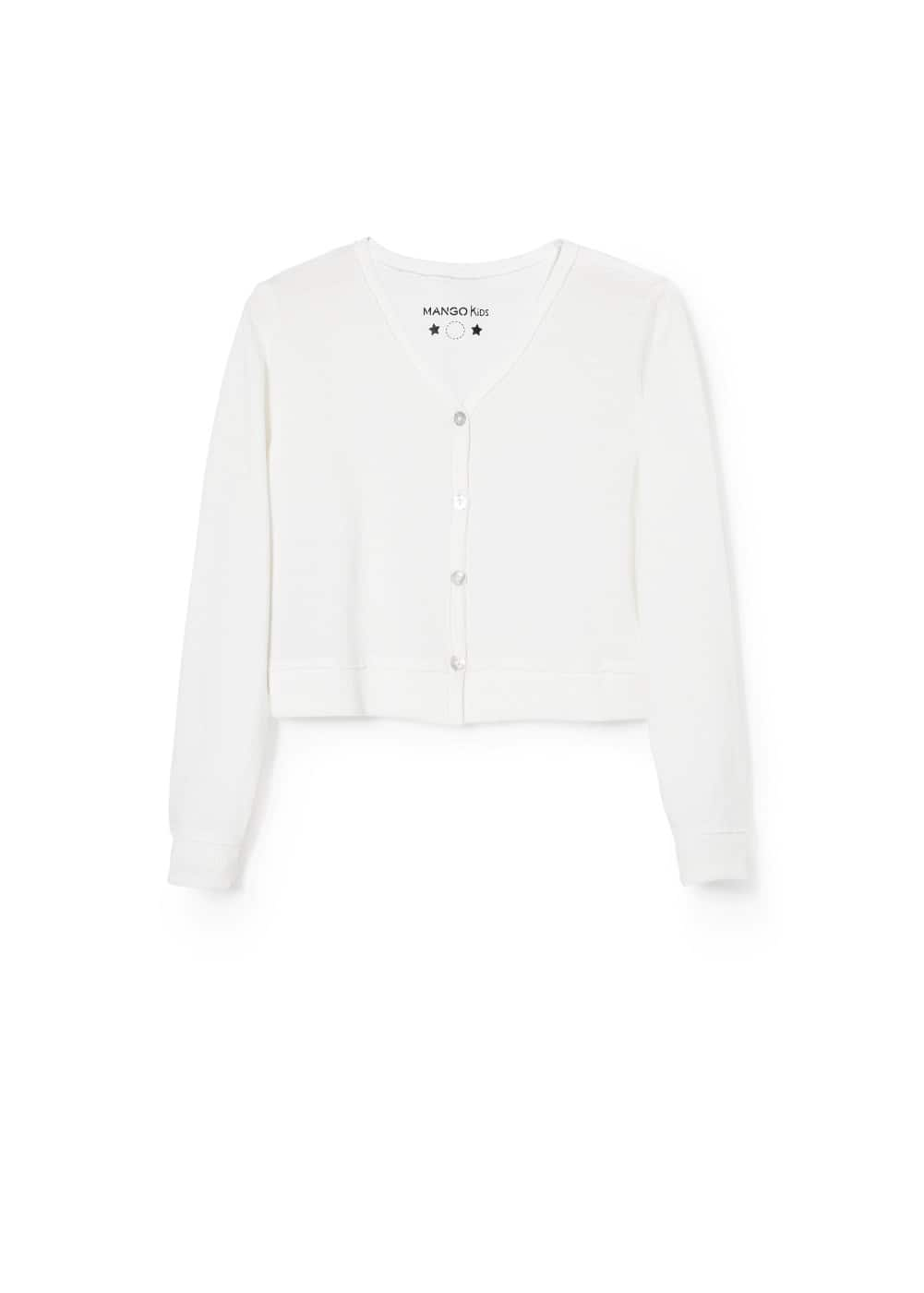 Pearly button jacket | MANGO KIDS