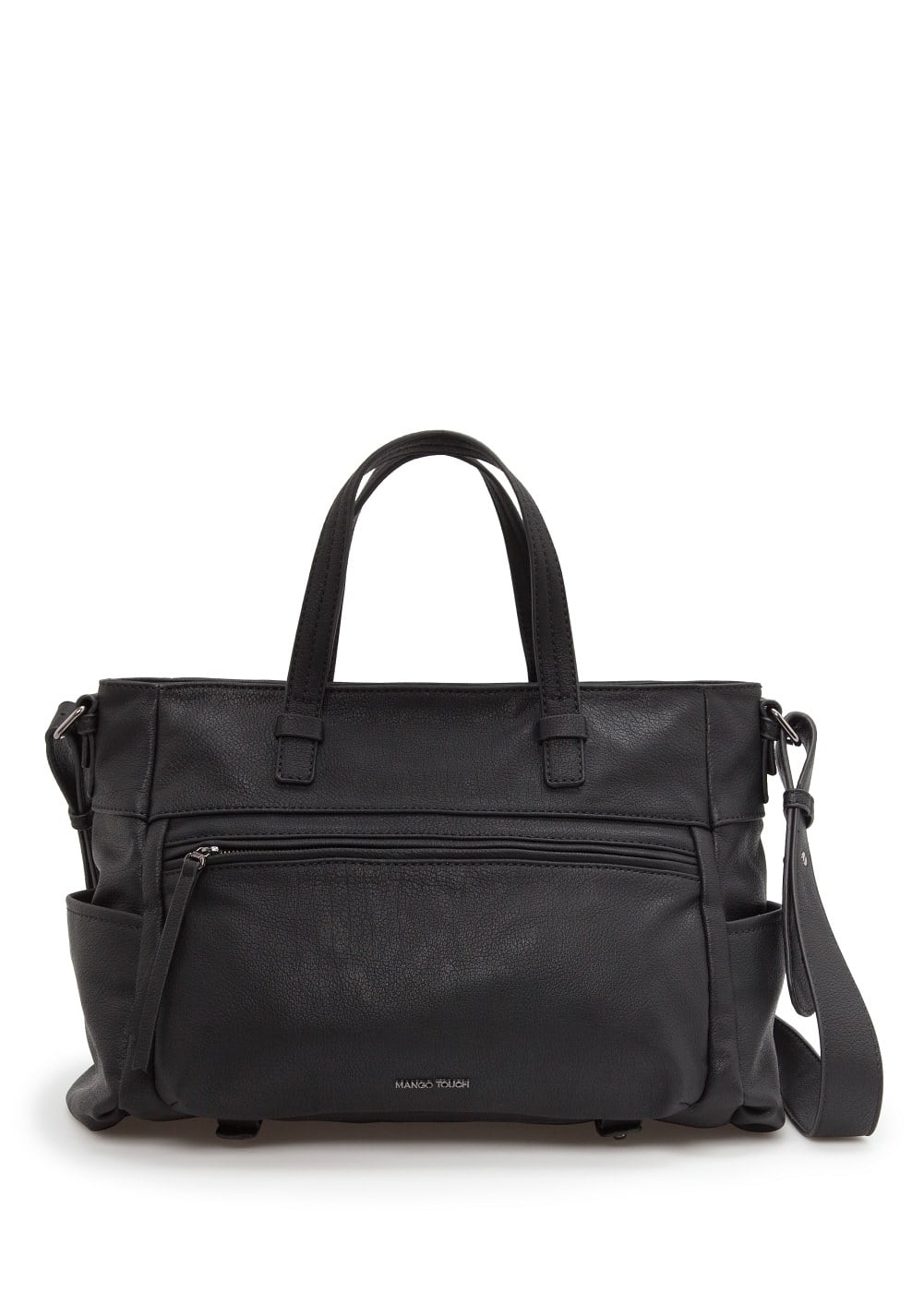 Multi-pocket tote bag | MANGO