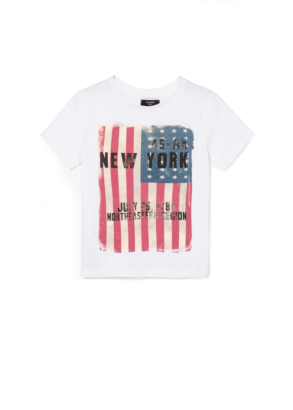 Flag t-shirt | MANGO