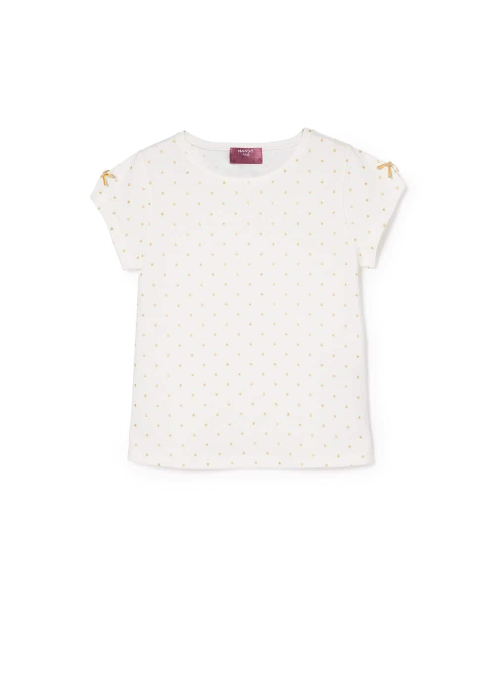Glitter star t-shirt | MANGO KIDS