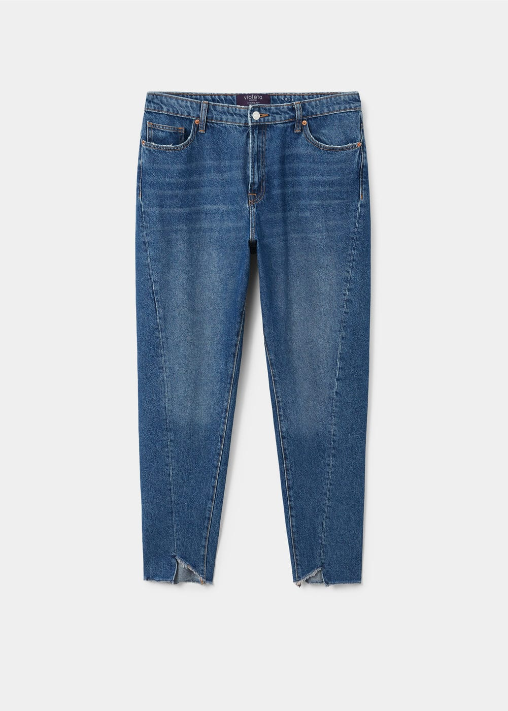Mom-fit jeans | VIOLETA BY MANGO