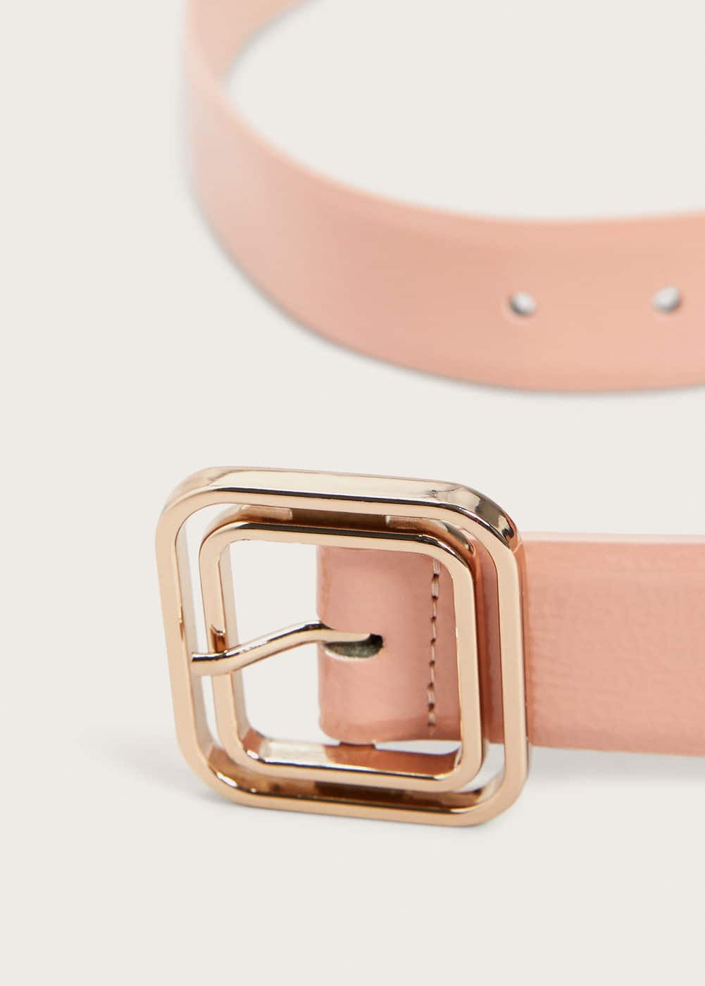 Buckle patent belt | VIOLETA BY MANGO