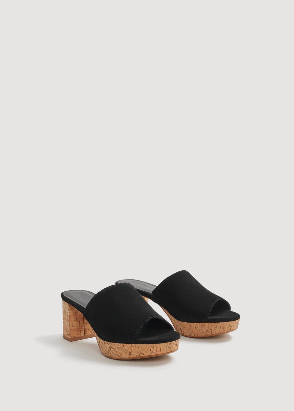 Heel leather mules | MNG