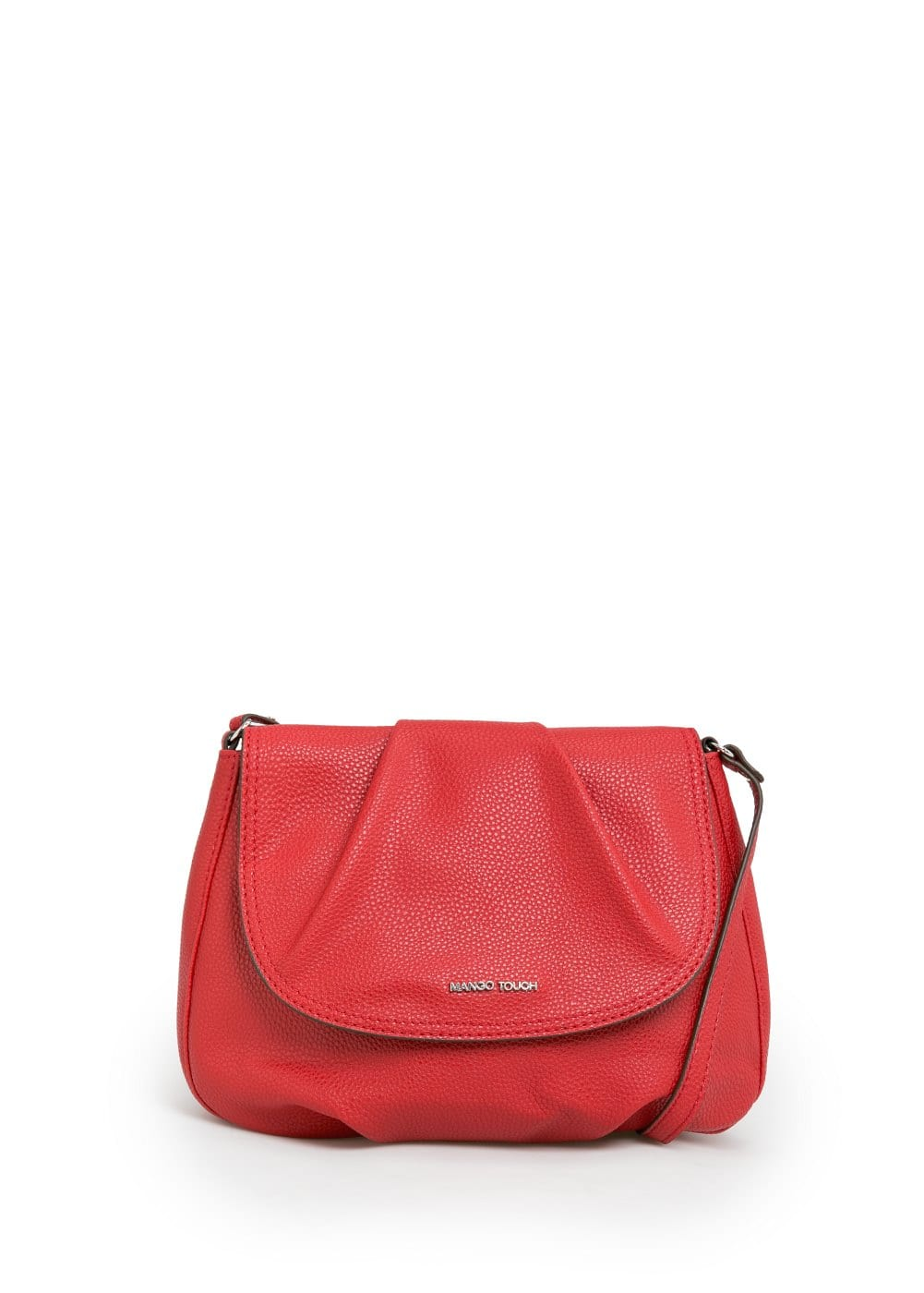 Pebbled cross body bag | MANGO
