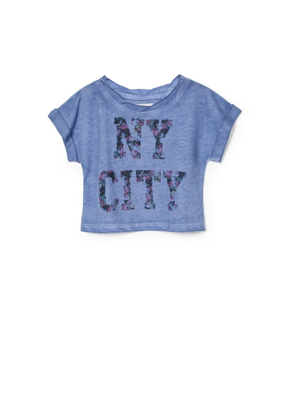 Nyc plush t-shirt | MANGO KIDS