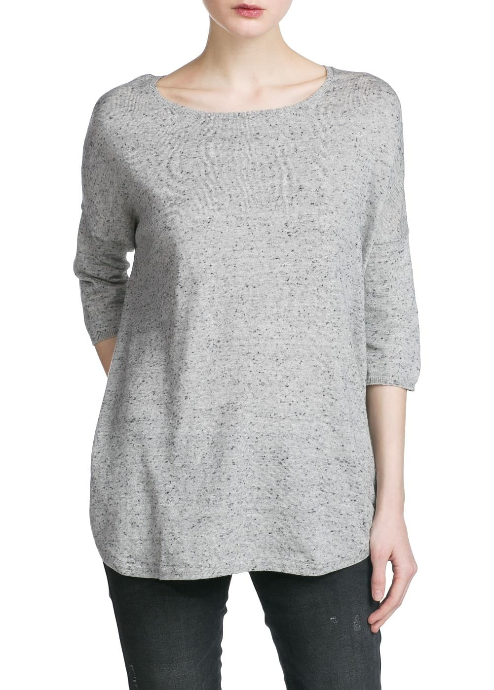 Dolman sleeves sweater | MANGO