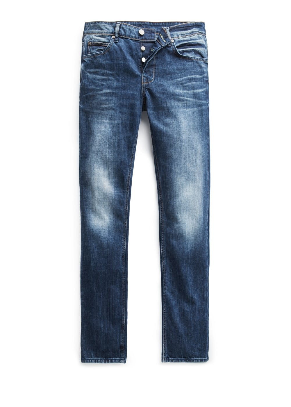 Slim-fit dark wash steve jeans | MANGO