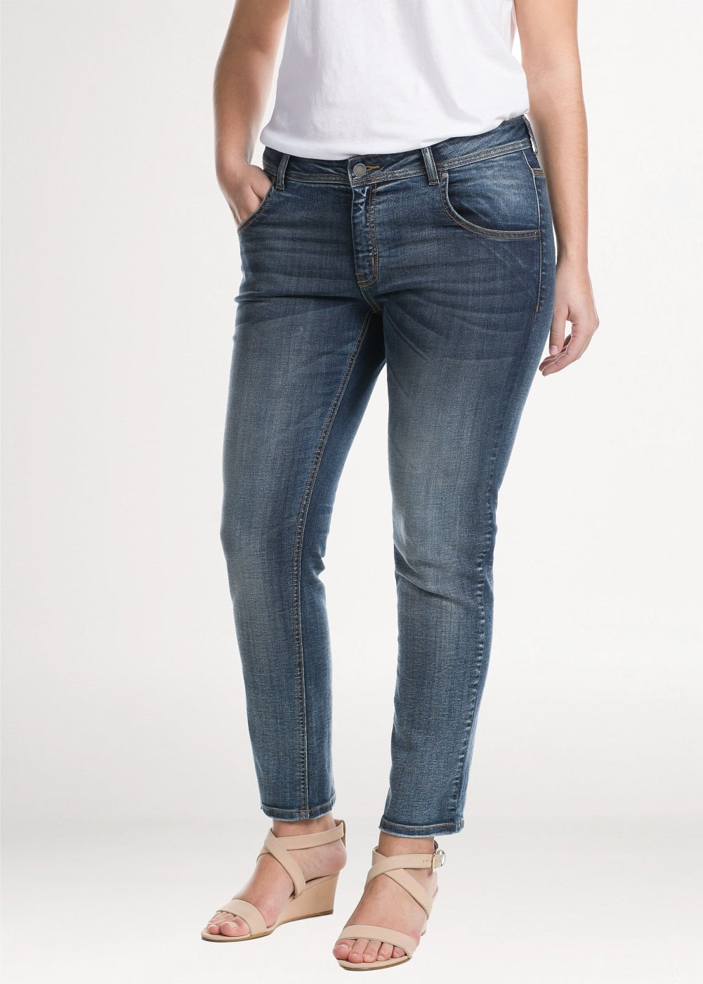 Super slim-fit infinity jeans | MANGO