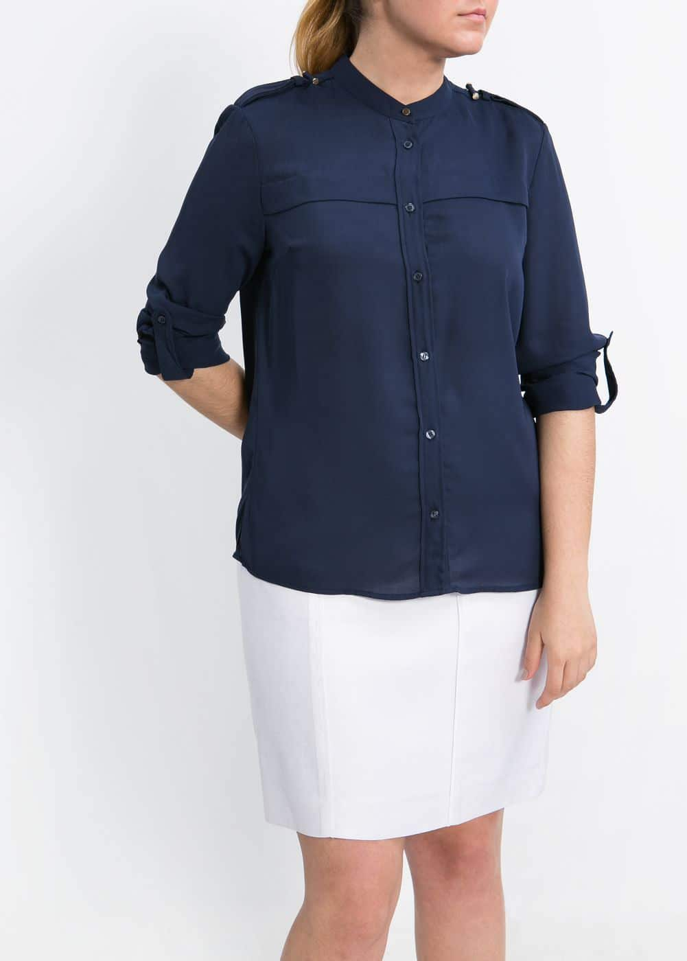 Lightweight blouse | MANGO