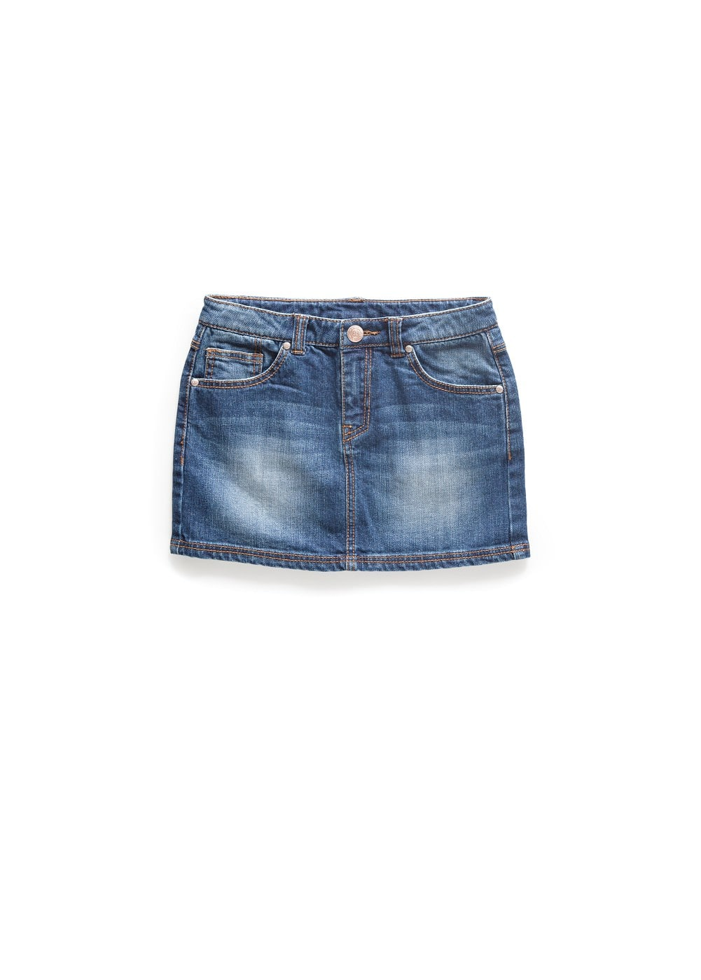 Dark denim skirt | MANGO KIDS