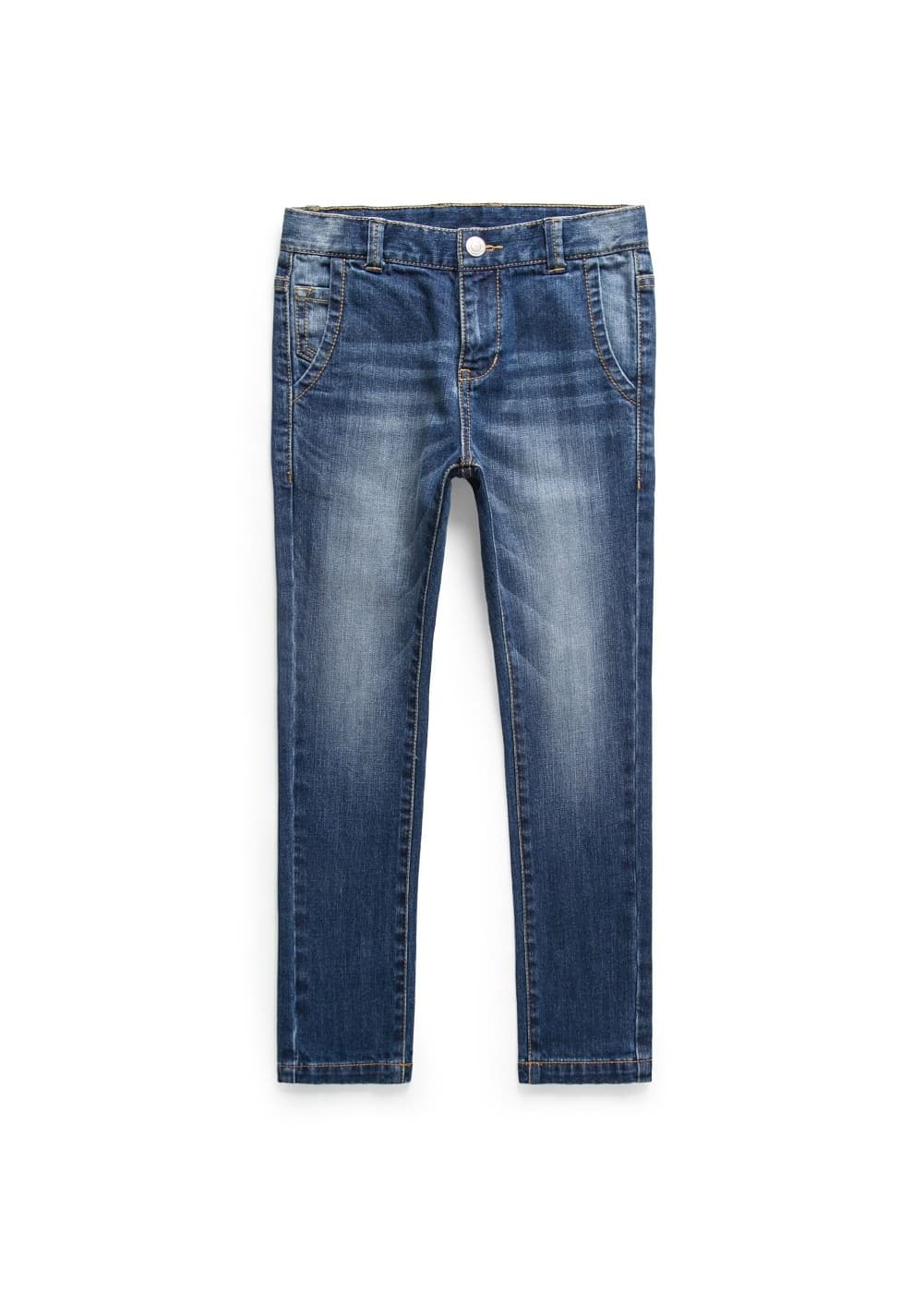 Slim-fit dark jeans | MANGO KIDS