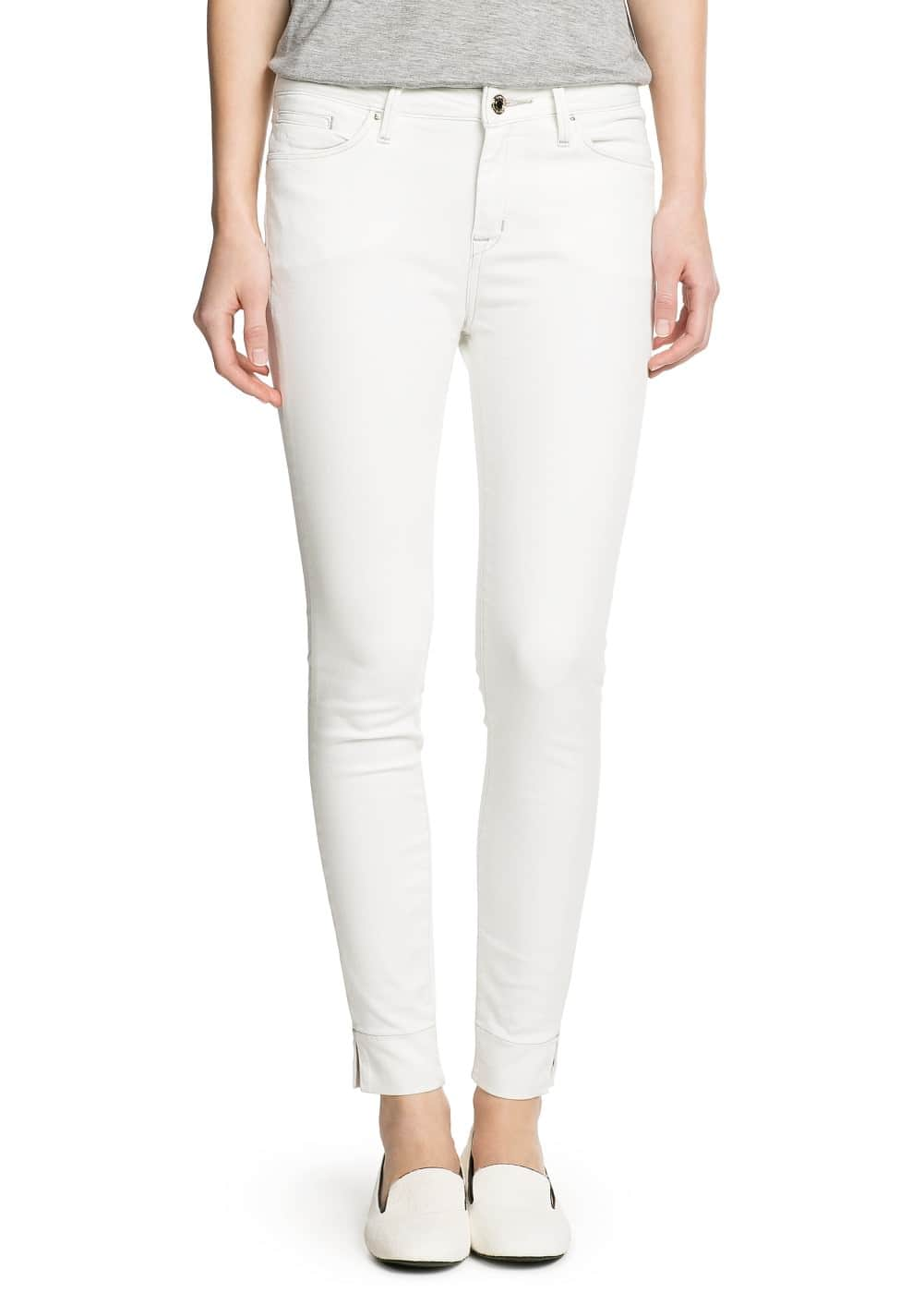 Audrey cropped jeans | MANGO