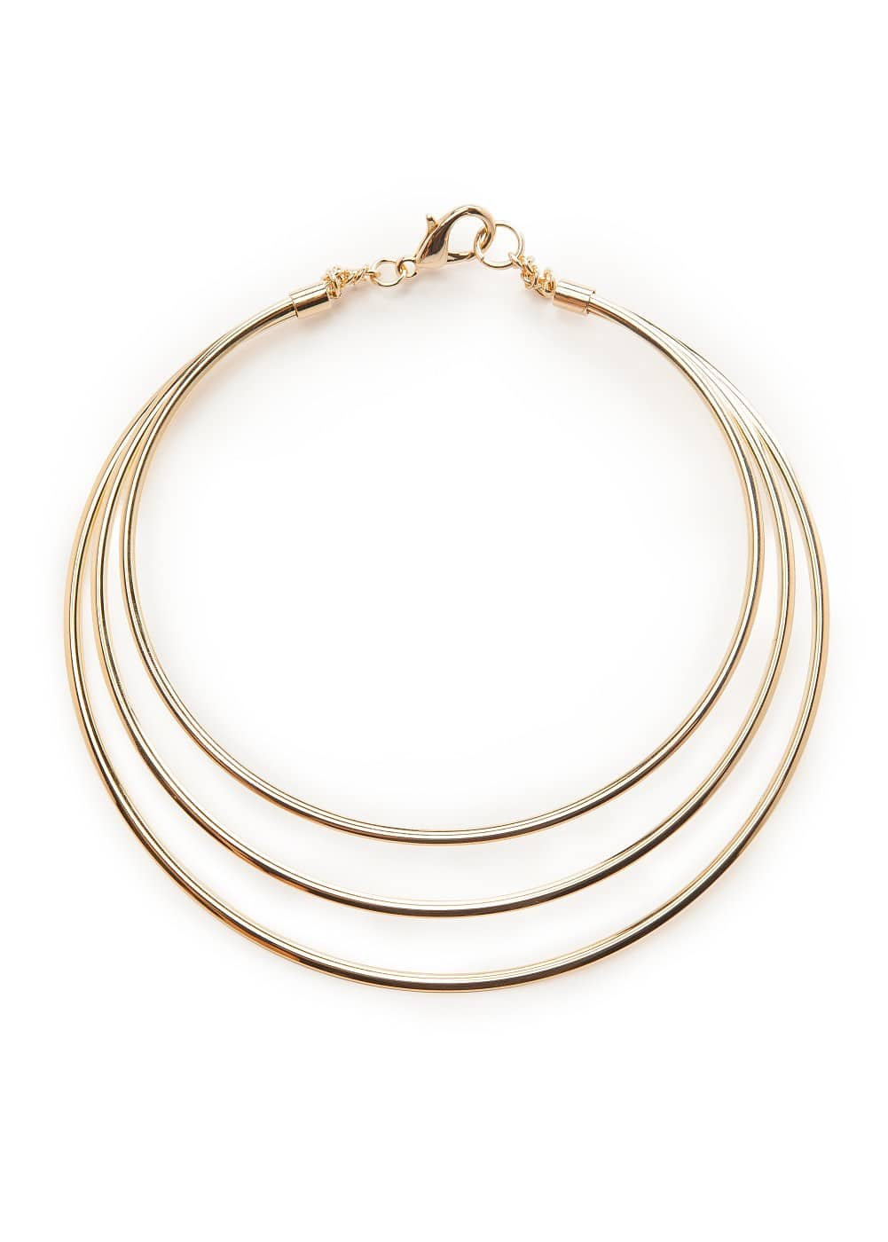 Metal triple choker | MANGO