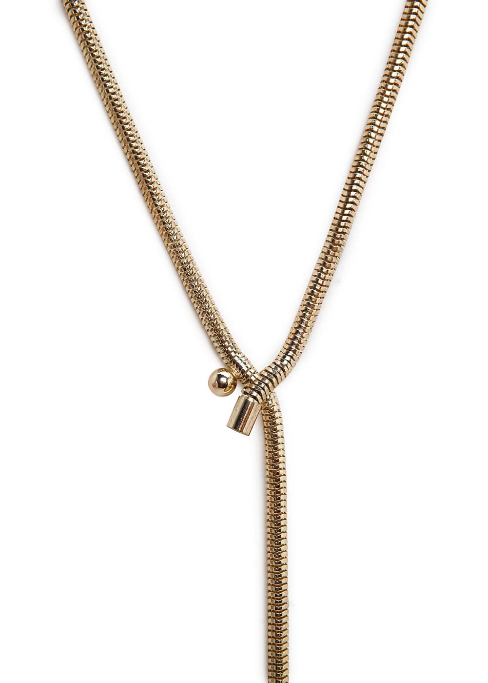 Snake chain necklace | MANGO