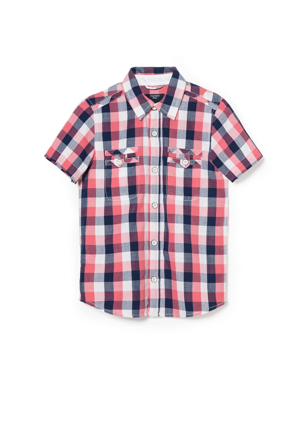 Short sleeve shirt | MANGO KIDS