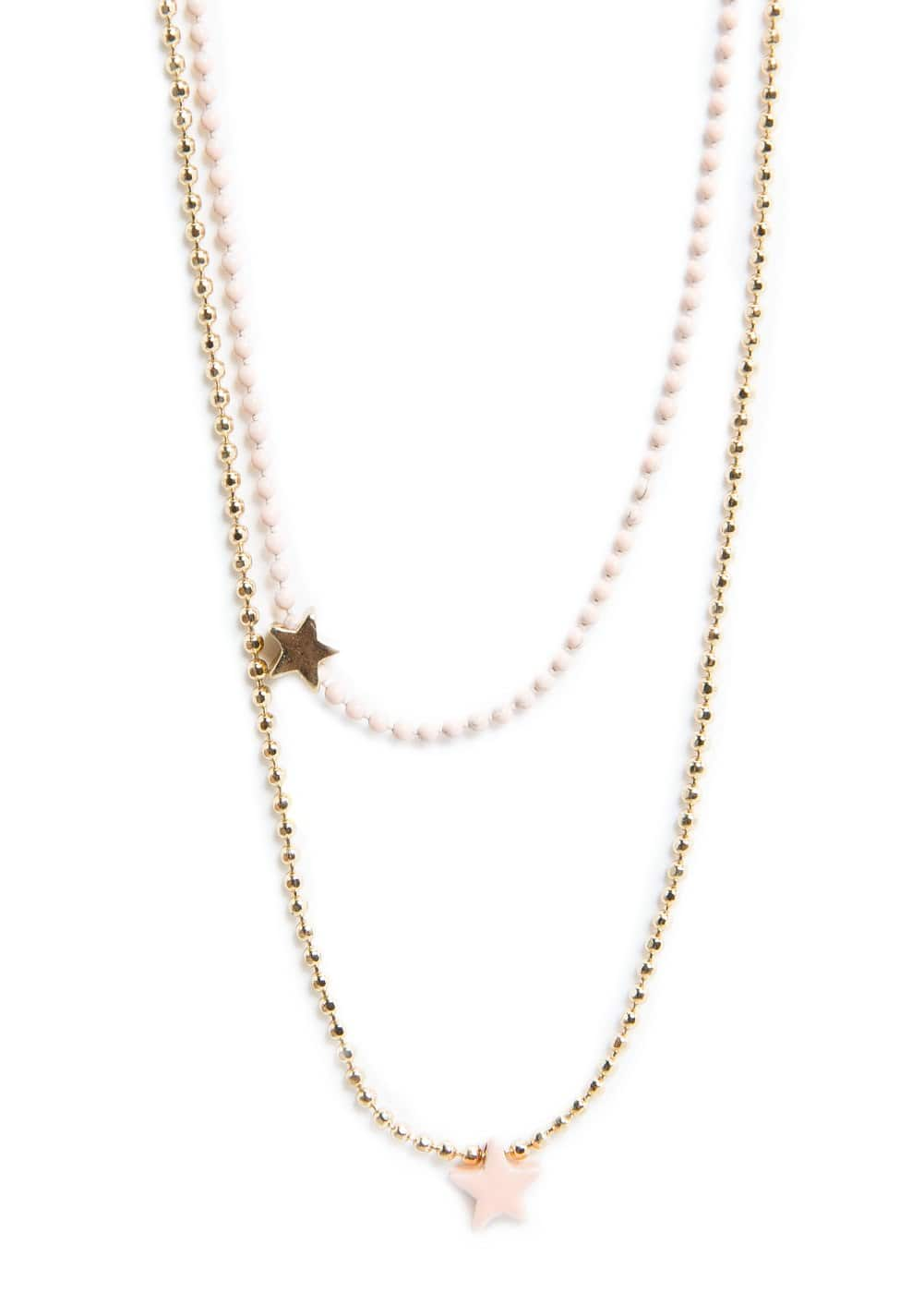 Double star necklace | MANGO KIDS