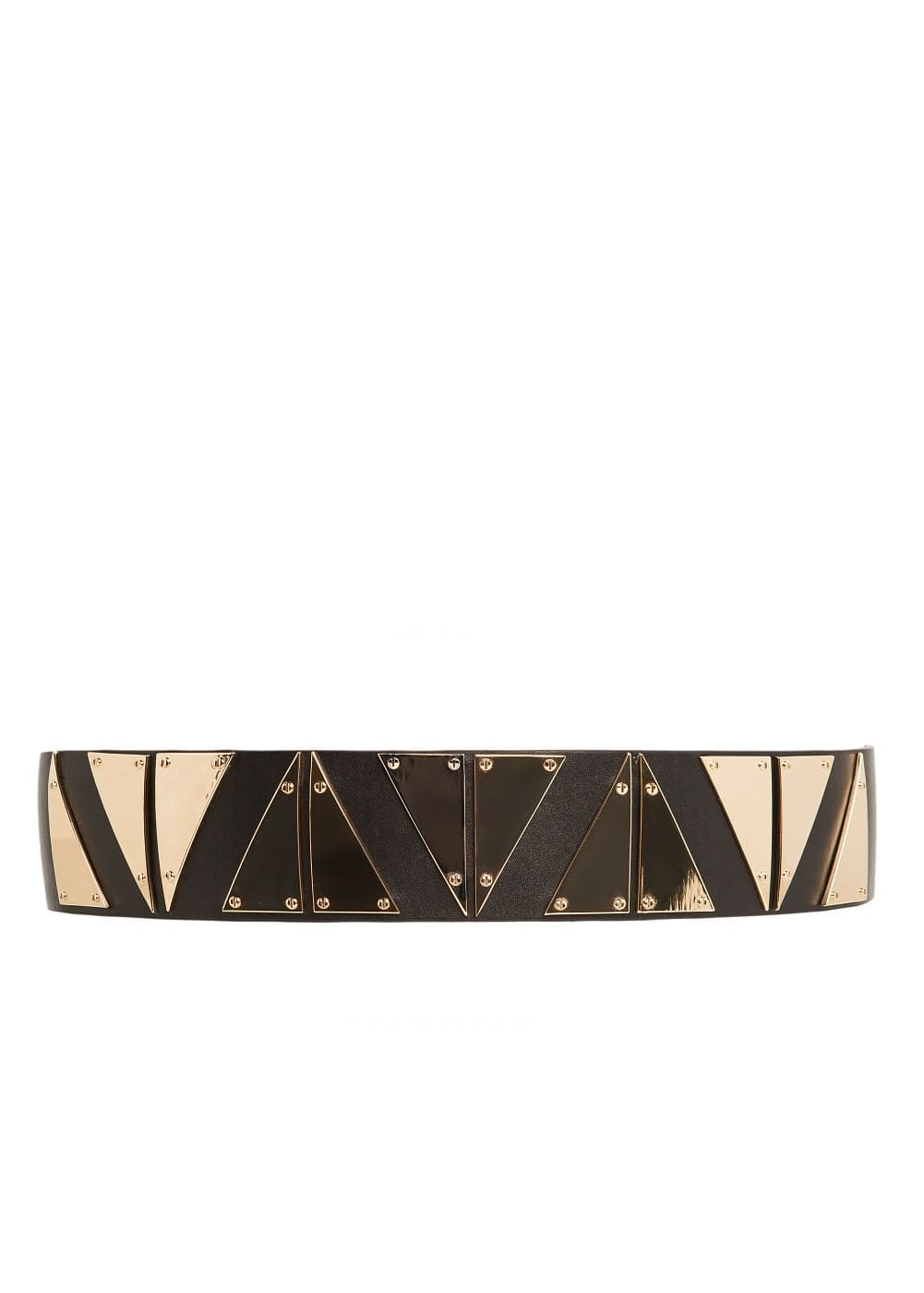 Metal triangle sash belt | MANGO