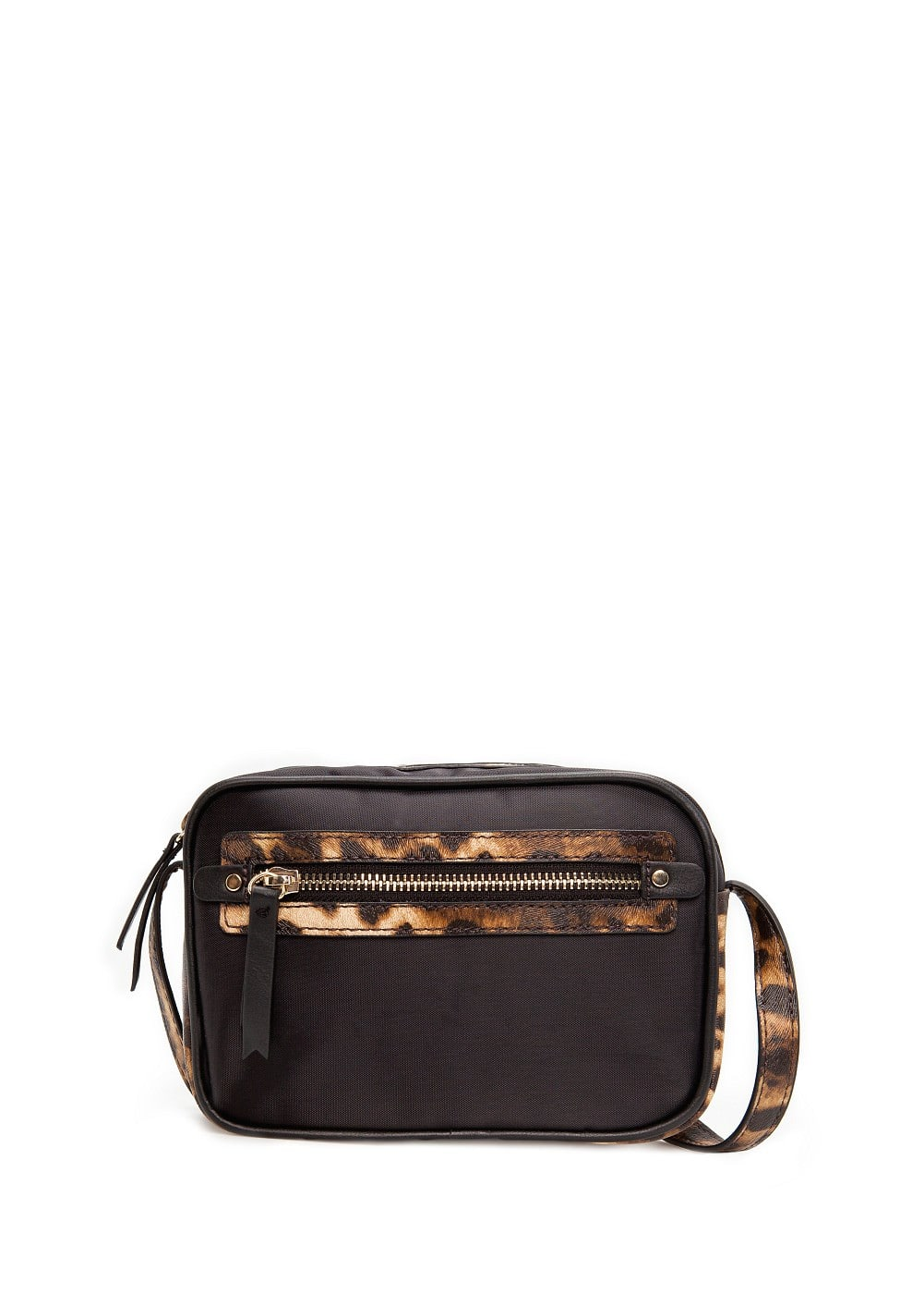 Saffiano detail cross body bag | MANGO