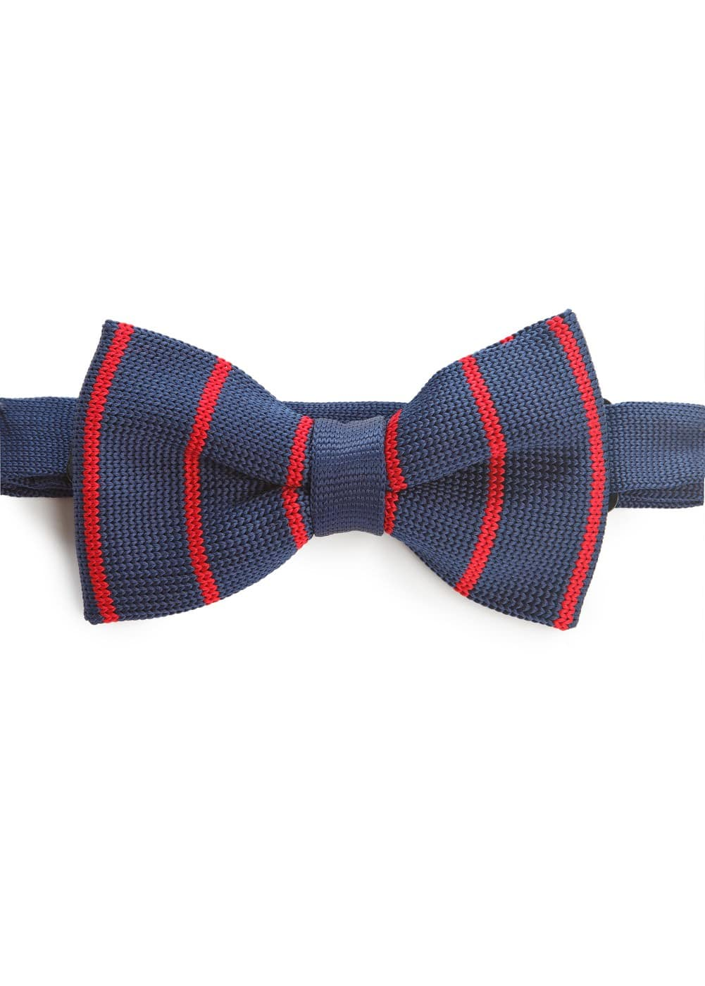 Striped patterned bow-tie | MANGO