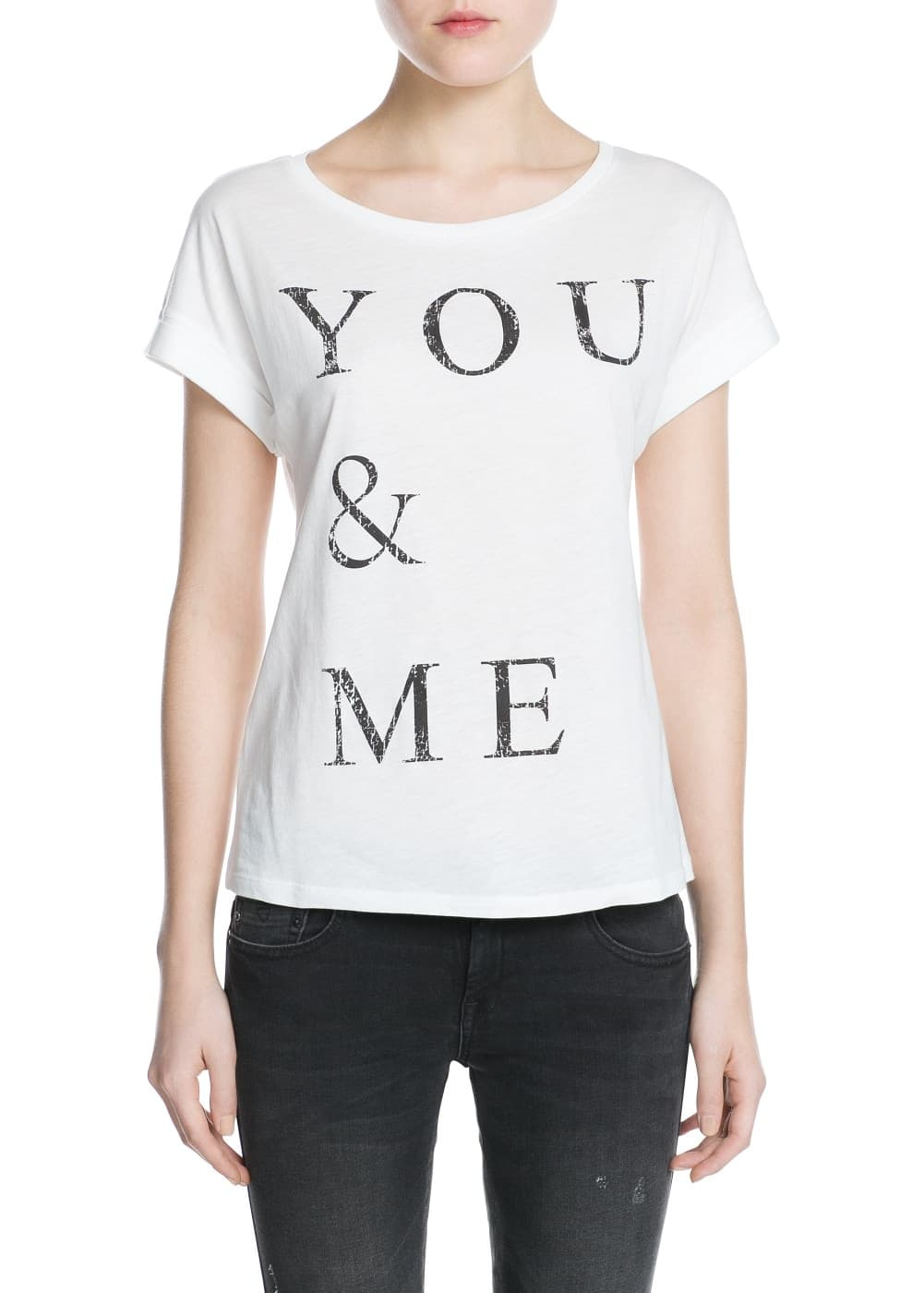 You and me t-shirt | MANGO