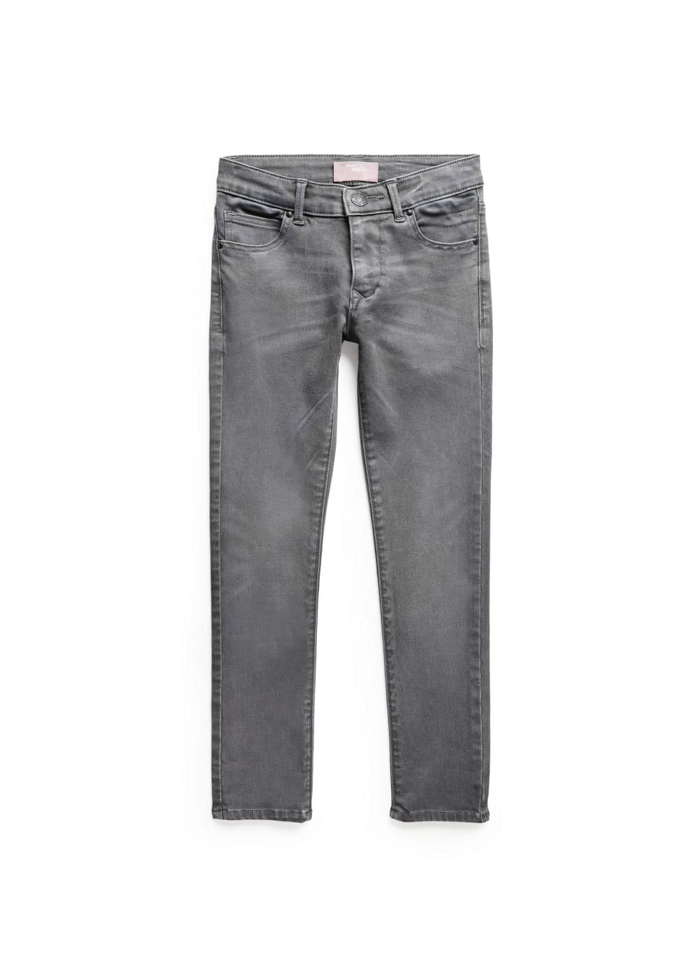 Slim-fit grey jeans | MANGO KIDS